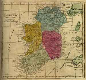 ancient map of ireland